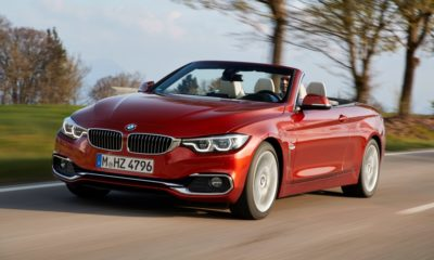 BMW 430i Cabriolet driving front