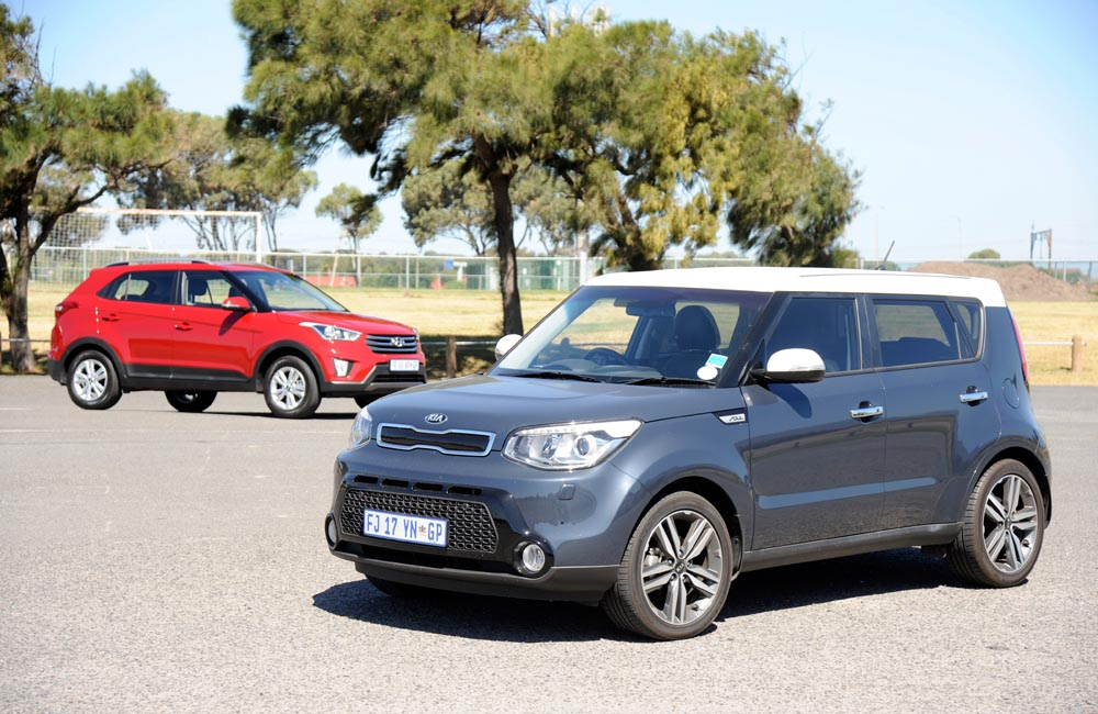 How does the Kia Soul matches up against the Hyundai Creta?