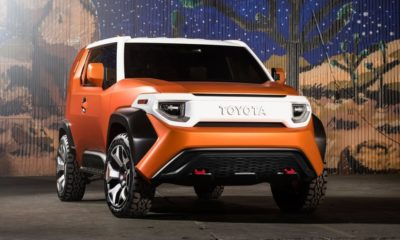 Toyota FT-4X Concept front