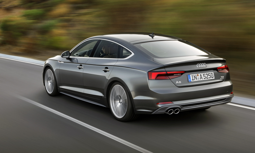 here 39 s how much the new audi a5 sportback costs car magazine. Black Bedroom Furniture Sets. Home Design Ideas