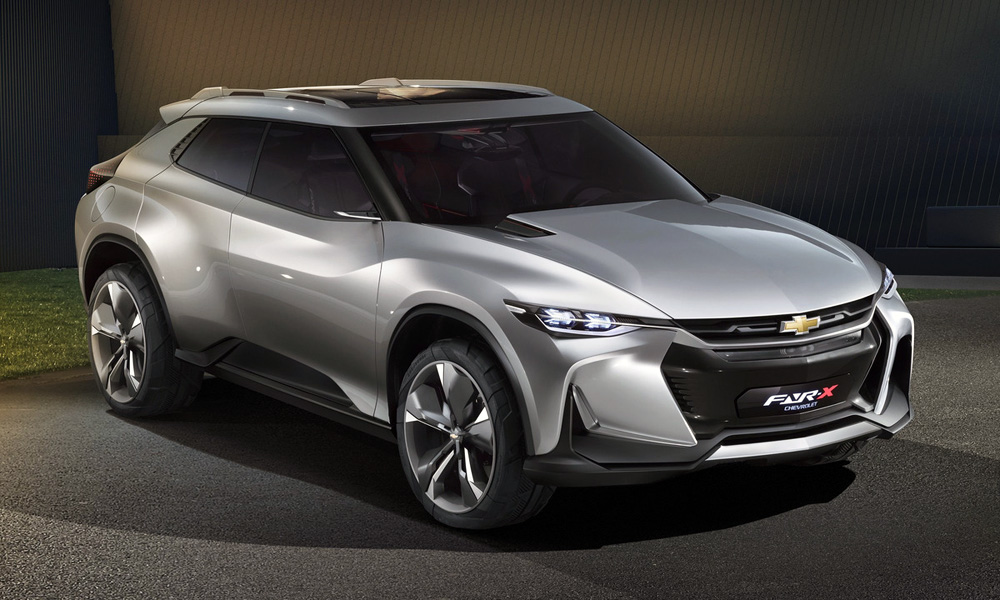 The Chevrolet FNR-X concept has been revealed in Shanghai.