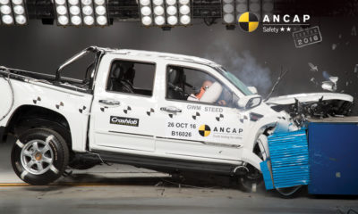 GWM Steed crash-test