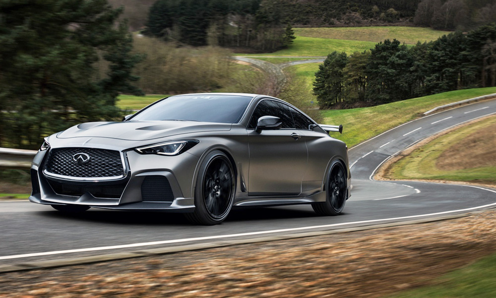 According to an Infiniti executive, the Q60 Project Black S concept will make production.