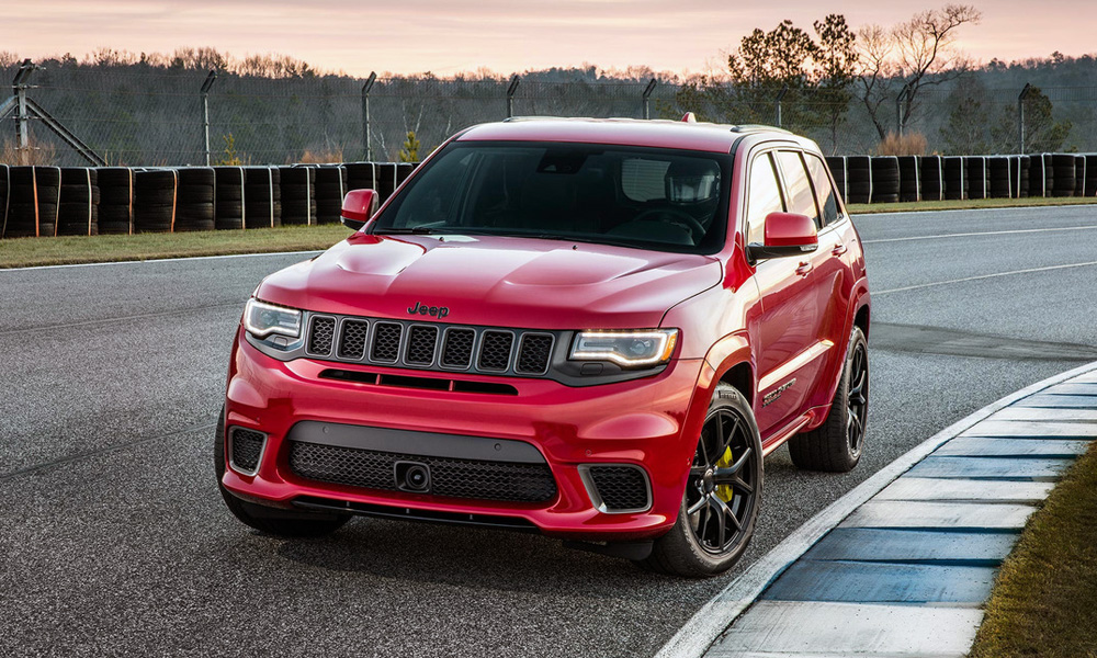 The Jeep Grand Cherokee Trackhawk is the most powerful production SUV yet.