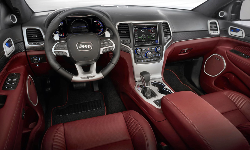 Five driving modes are included.