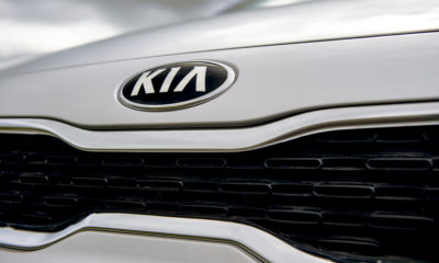 The Kia badge