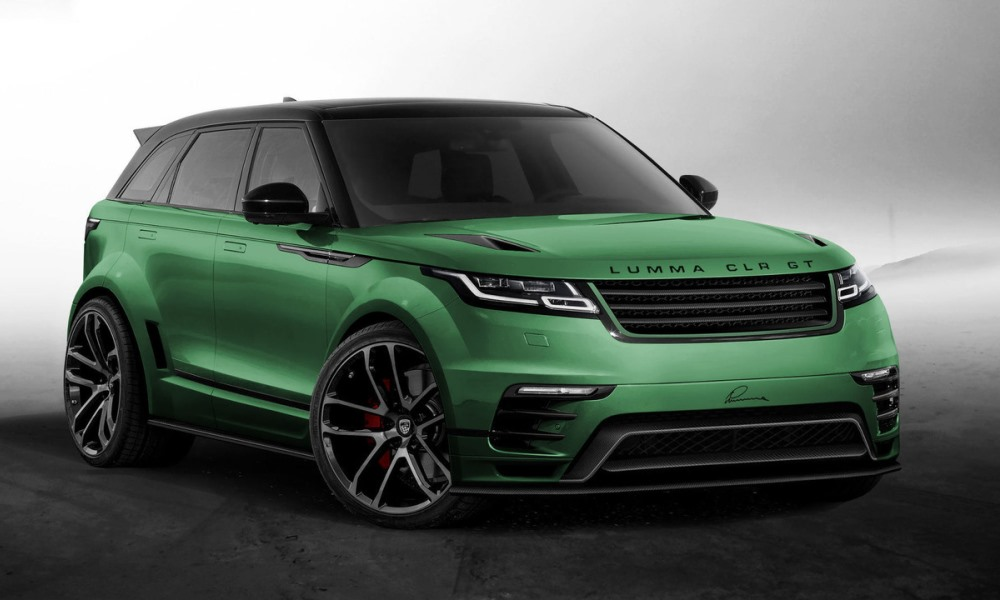 Lumma Reveals Its Take On The New Range Rover Velar Car Magazine