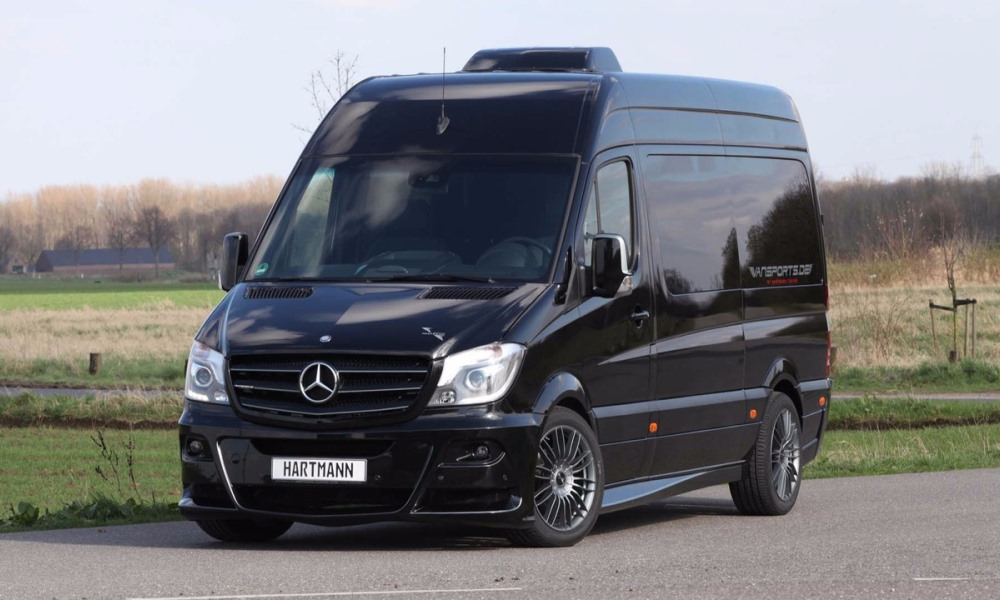 hartmann blings up mercedes sprinter for camping car magazine. Black Bedroom Furniture Sets. Home Design Ideas