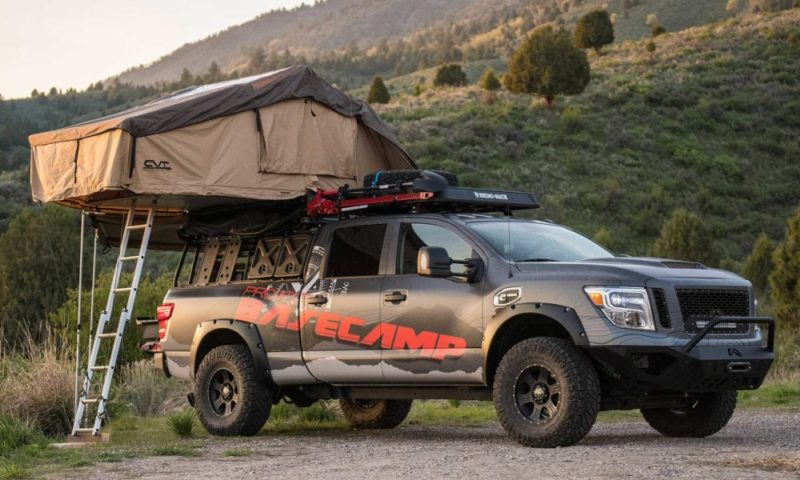 Nissan Titan XD Pro-4 4x4 Project Basecamp front
