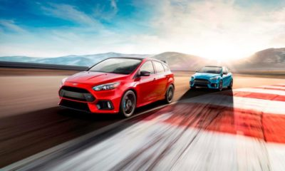 Ford Focus RS Limited Edition driving