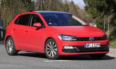 Volkswagen Polo red front