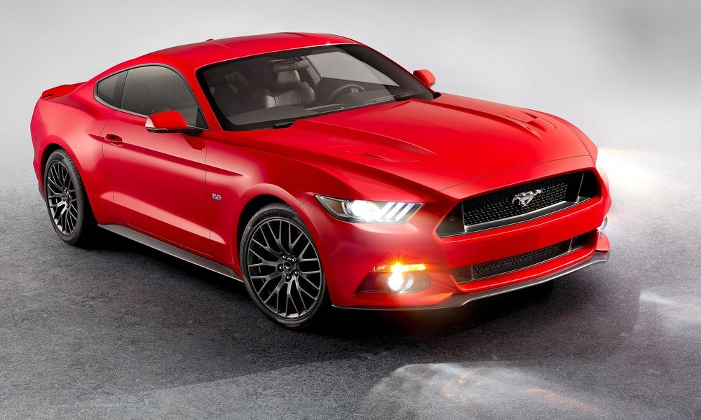 The Ford Mustang sold more than 15 000 units in Europe in 2016.