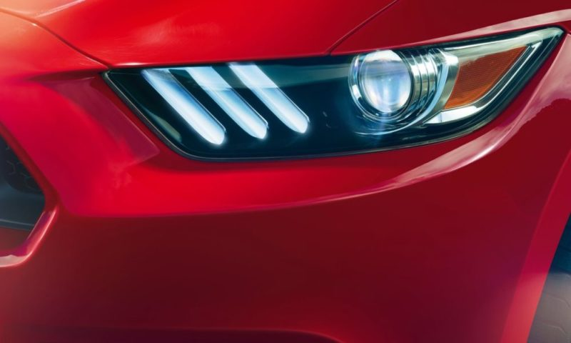 Ford Mustang headlamp