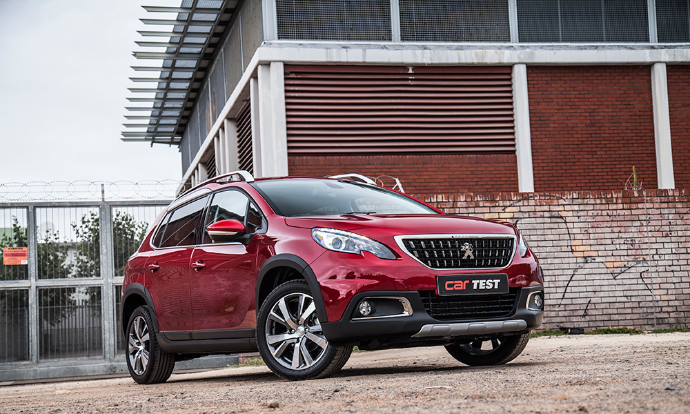 The Updated Peugeot 2008 Features A Fresh Family Grille Design.