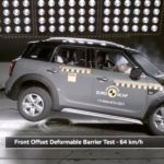 Mini Countryman & Audi Q2 crash test