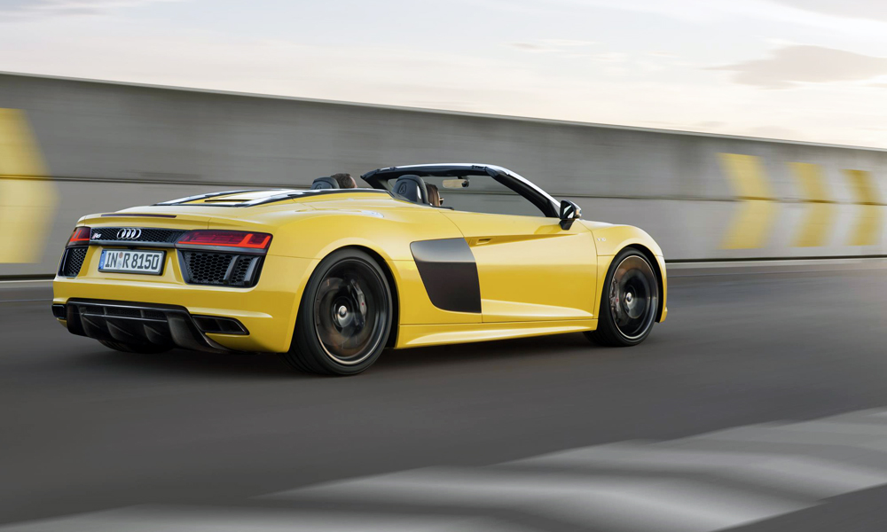 here 39 s how much the new audi r8 spyder costs in sa car magazine. Black Bedroom Furniture Sets. Home Design Ideas