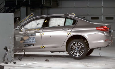 BMW 5 Series crash-test