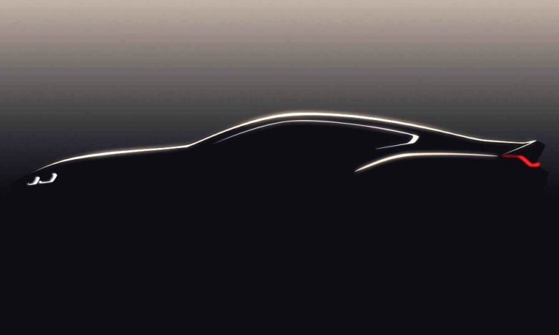 BMW 8 Series Coupe Concept Teaser