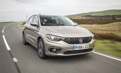 Fiat Tipo front driving
