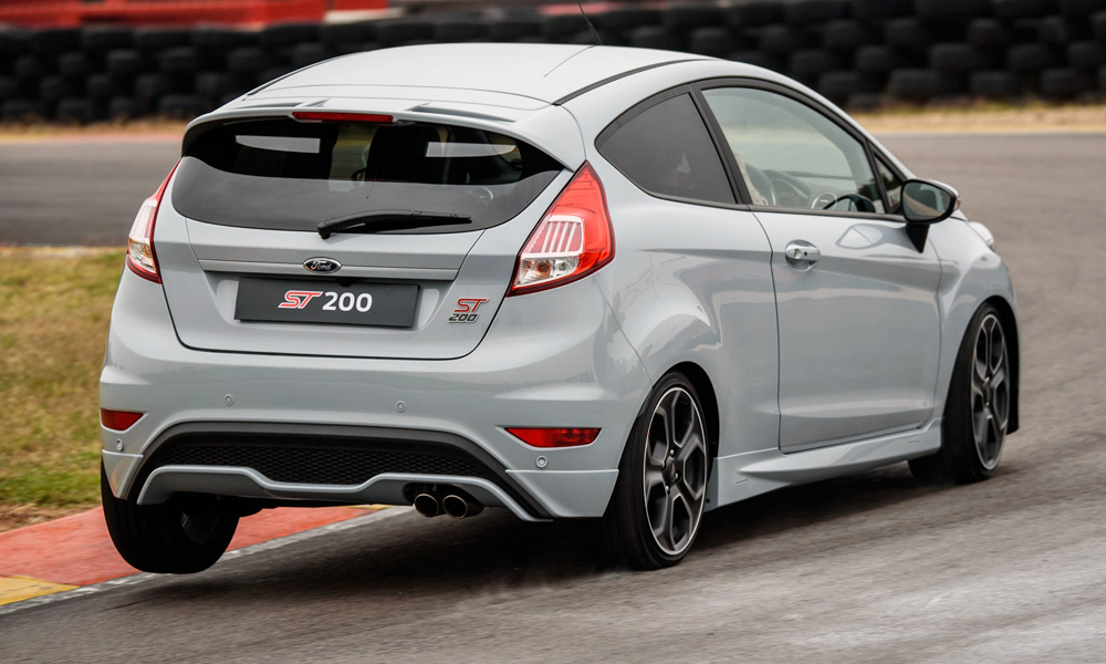 limited edition ford fiesta st200 blasts into sa car. Black Bedroom Furniture Sets. Home Design Ideas