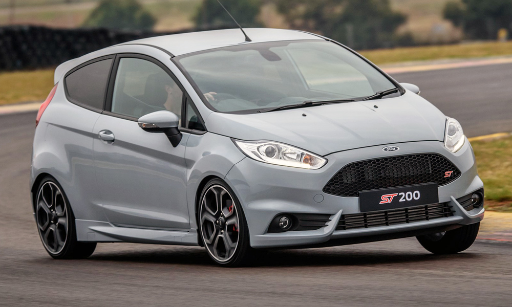 limited edition ford fiesta st200 blasts into sa car magazine. Black Bedroom Furniture Sets. Home Design Ideas