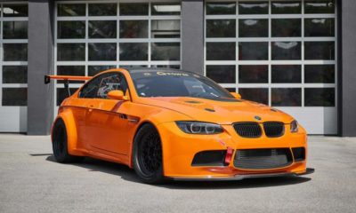 M3 GT2 S Hurricane front