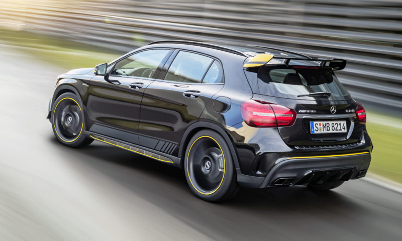 Mercedes-AMG GLA45 4Matic Yellow Night Edition