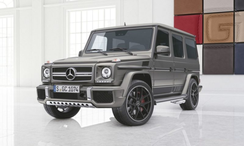 Mercedes-Benz G65 AMG Exclusive Edition front