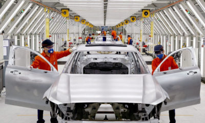 Volvo S90 production in China