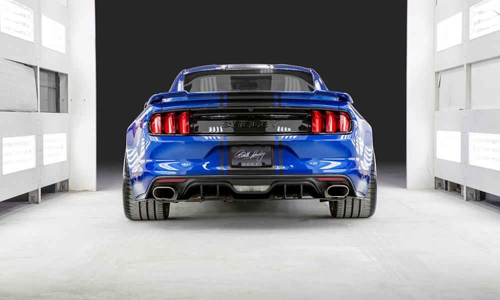 Shelby has not disclosed how much power the supercharged V8 makes.