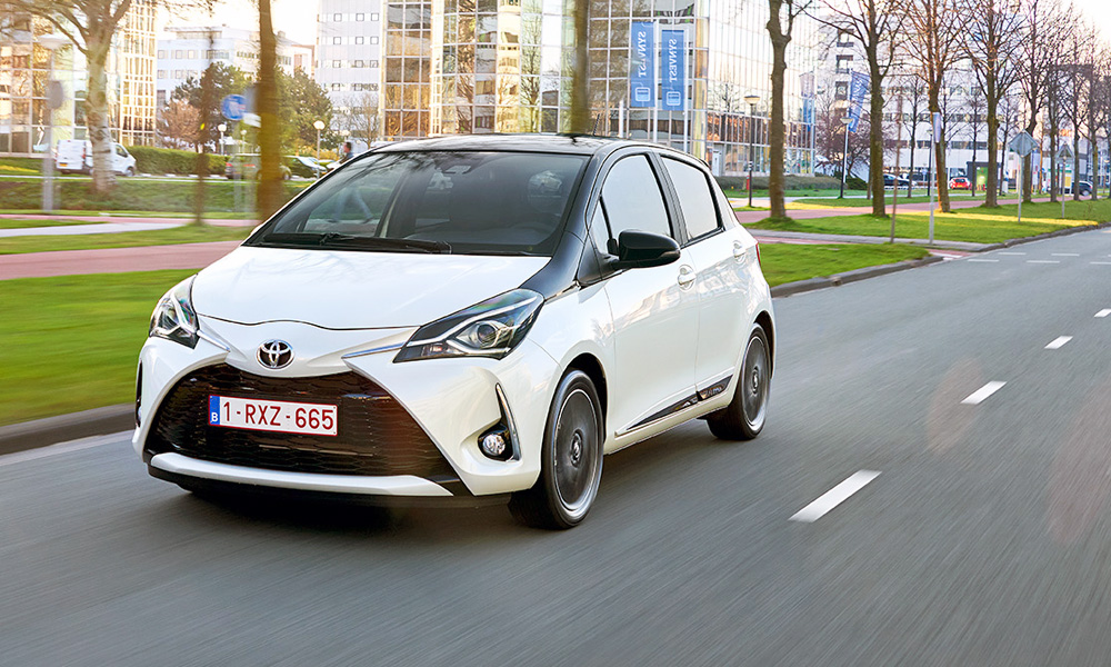 The facelifted Toyota Yaris is due to hit SA at the end of May.