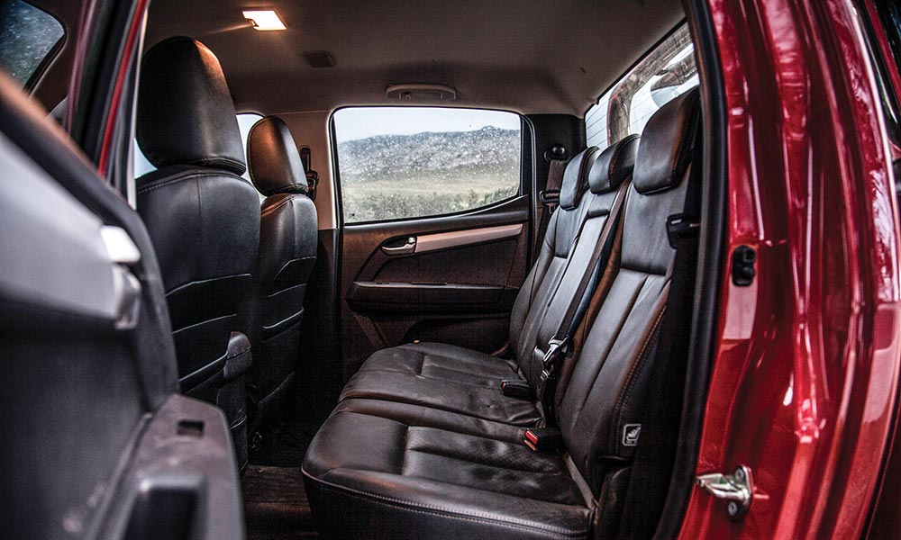 Despite its age, the KB still offers one of the most comfortable rear-passenger compartments in this segment.