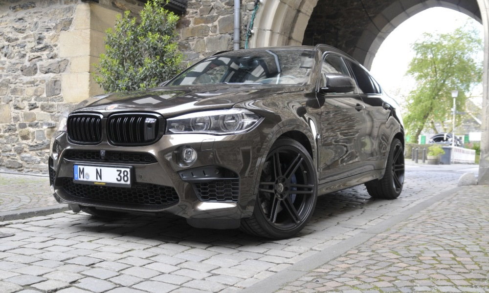 German Tuner Turns Bmw X6 M Into A Super Suv Car Magazine