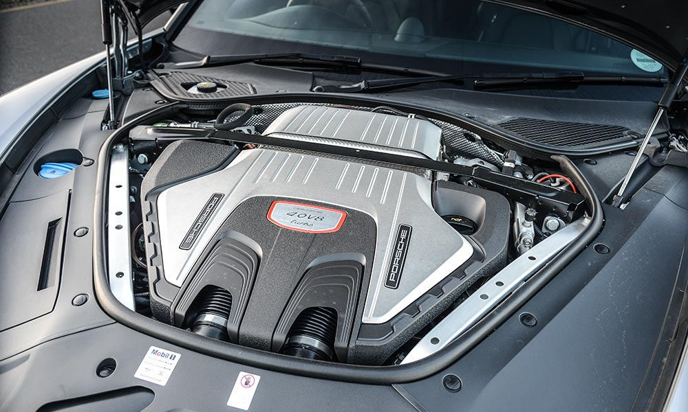 The new engine makes 404 kW.