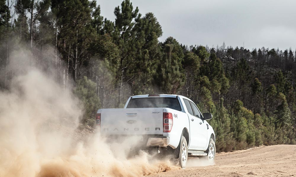 The 3,2-litre, five-cylinder engine adds punch to the Ranger package.