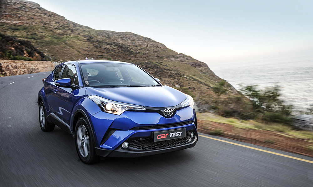 This production version of the Toyota C-HR is impressively close to the concept revealed back in 2015.