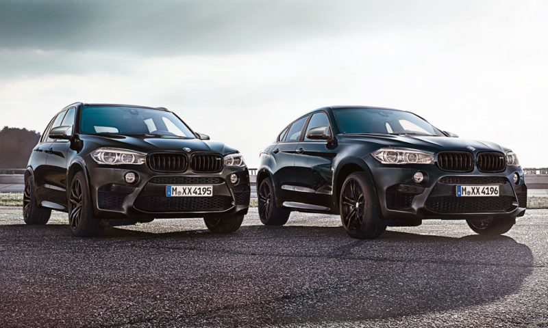 BMW Black Fire Editions