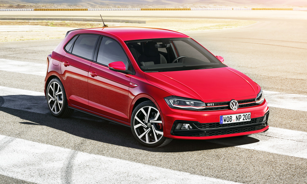 The New Volkswagen Polo Gti Features A 2 0 Litre Turbopetrol Engine