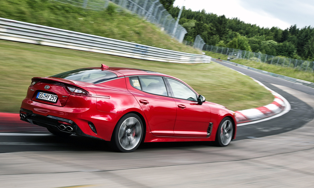 Kia says new stinger is 39 not about outright power 39 car for Jd motors austin tx