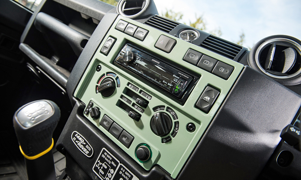 This example has a few extras, such as an upgraded DBS stereo.