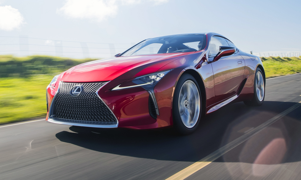The Lexus LC500 Has Officially Arrived In SA. It Is Powered By A Naturally  Aspirated 5,0 Litre V8.