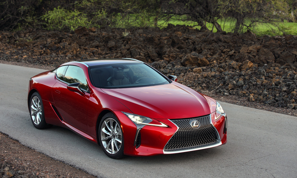The Lexus LC500 Has Officially Arrived In SA.