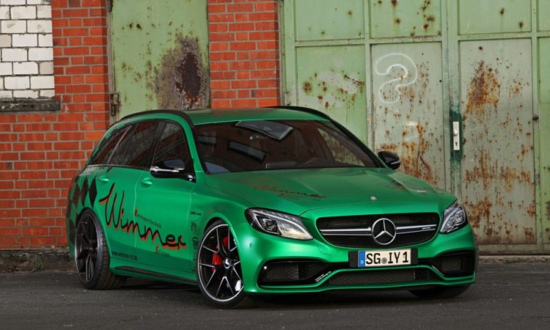 Mercedes-Amg C63 S Estate by Wimmer front