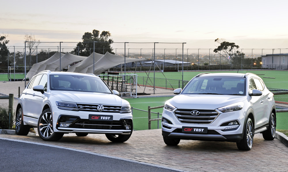Volkswagen Tiguan Vs Hyundai Tucson A Close Battle