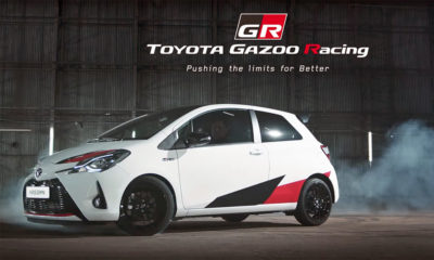 Toyota Yaris GRMN hot hatch