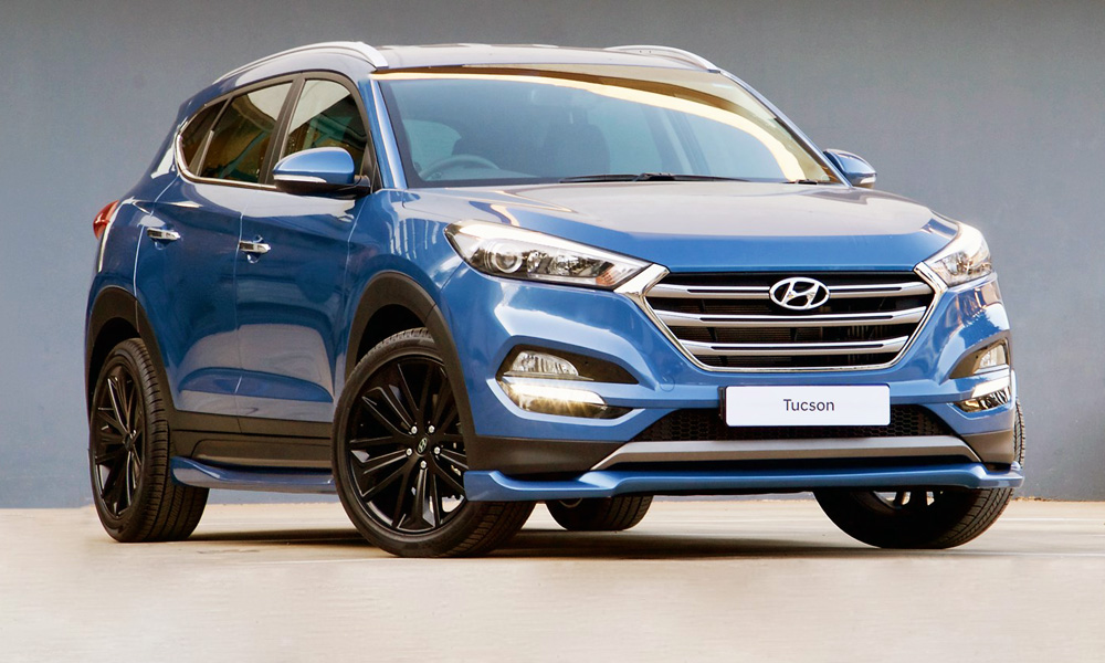 The New Sport Version Of The Hyundai Tucson Makes 150 KW.