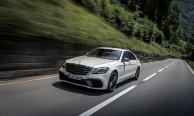 Mercedes-AMG S63 4Matic+ front