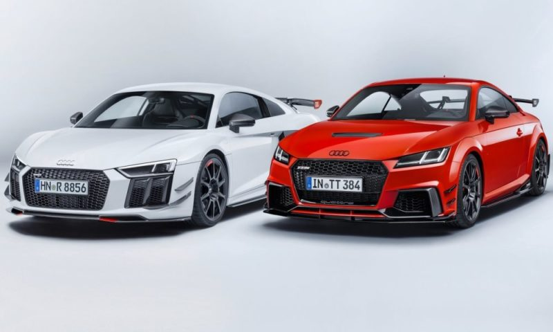 Audi R8 and TT performance parts