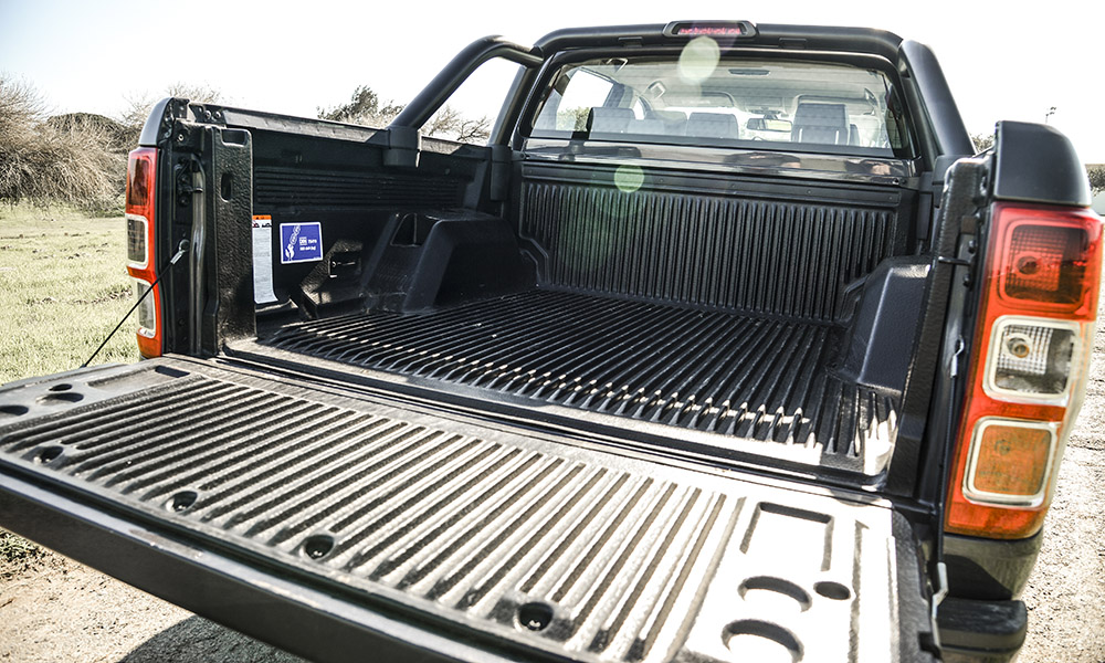 A much-needed load bay protector is part of the Fx4 package, as is a tubular sports bar.