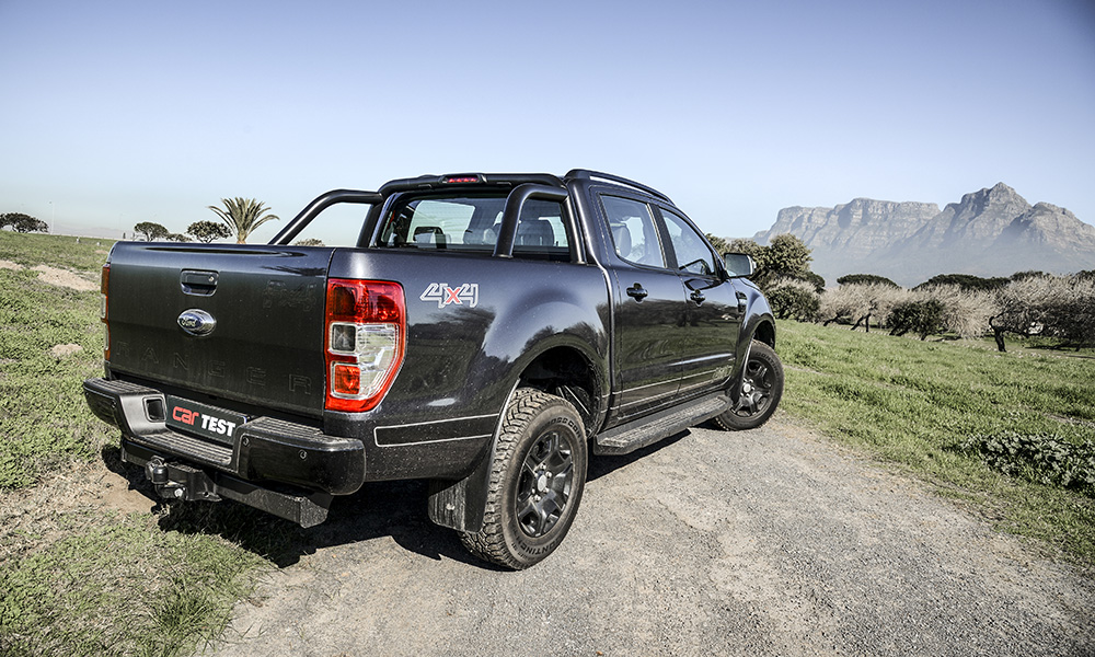 The R15 000 Fx4 option is only available on the Ranger 3,2-litre XLT 4x4 (manual or automatic).